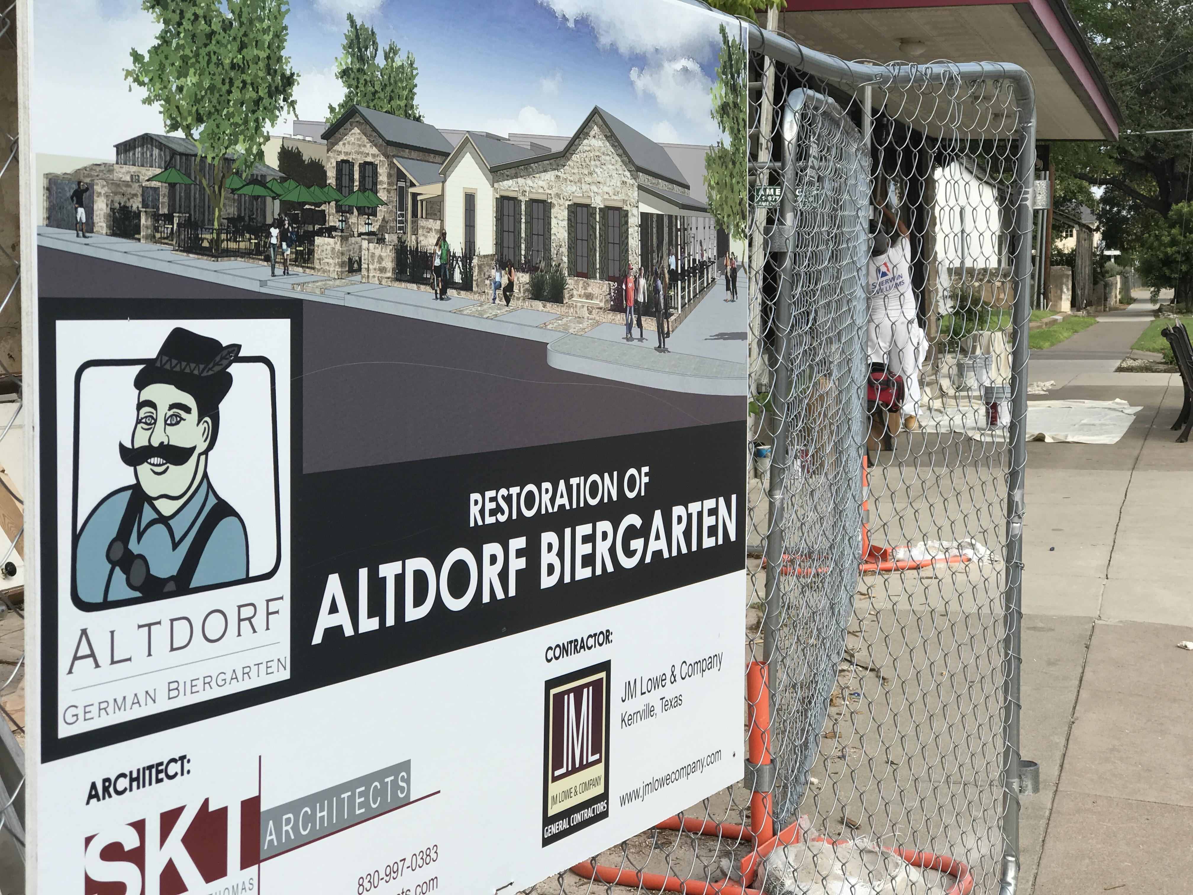 Altdorf Biergarten