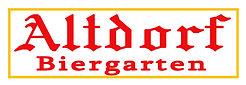 Altdorf Biergarten Logo