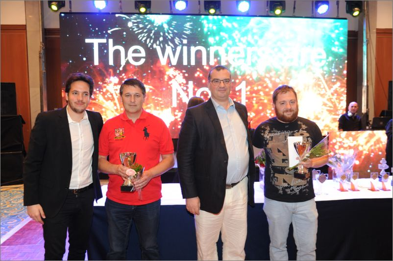 IMP Pairs Winners