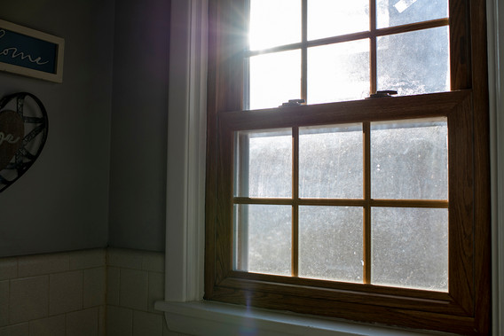 January 16, 2020  Every morning, as I went to the bathroom, I would see the sunrise. It brightened the room, always reminding me of God's presence. I always say a few words of gratitude.