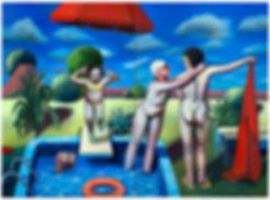 A Peculiar Pool Party Between Brandenbur