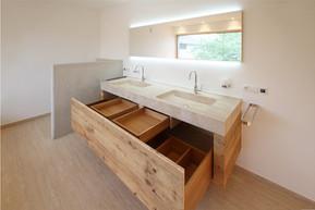 Altholz Waschtischunterschrank