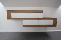 Sideboard in Eiche/Weißlack