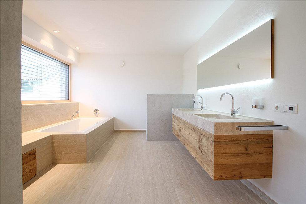 Badezimmermöbel eiche massiv  Schreinerei Tobias Roglmeier