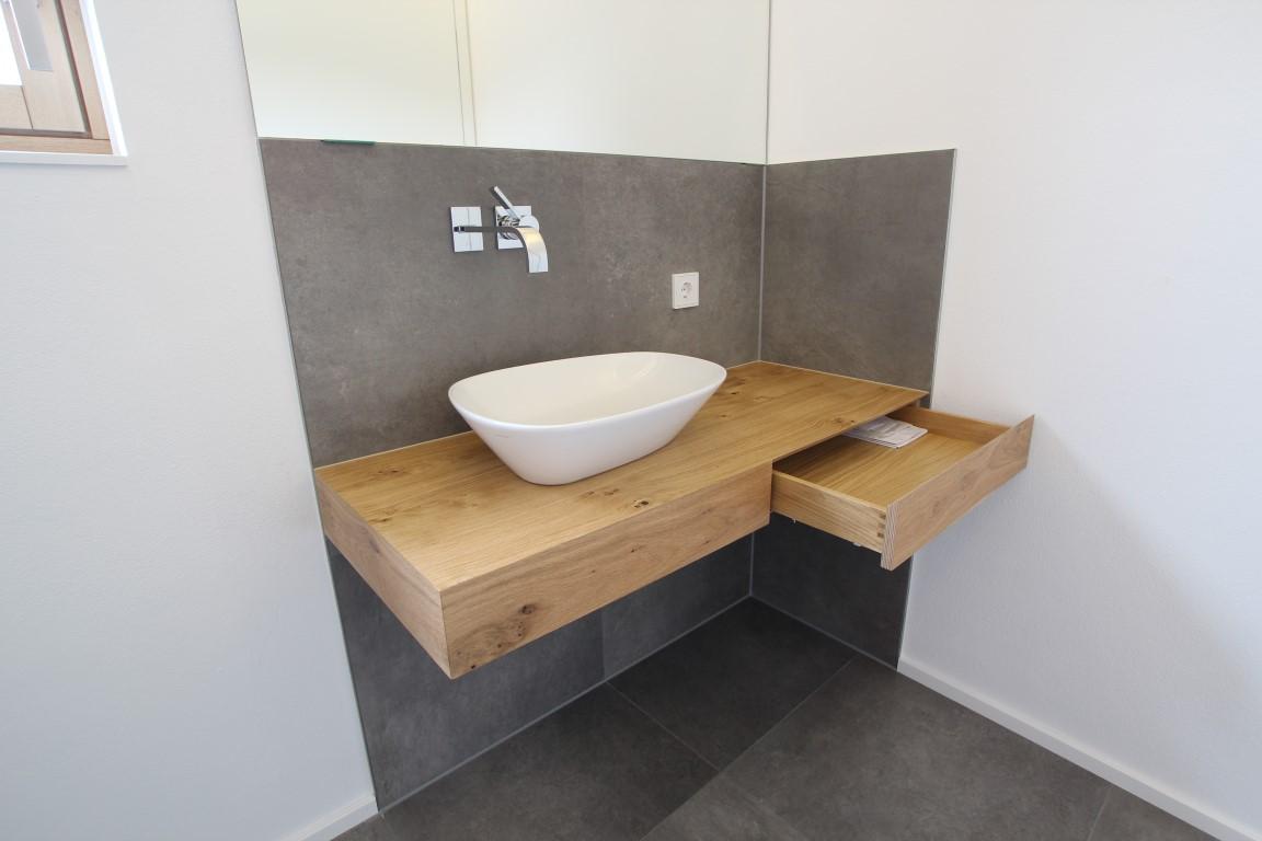 Waschtisch WC Wildeiche 3