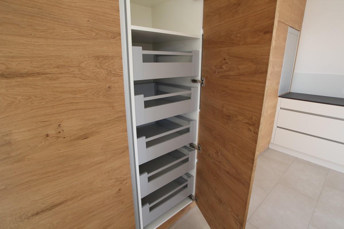 Küche Wildeiche/Weisslack