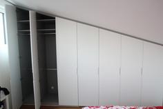 Kleiderschrank Weißlack