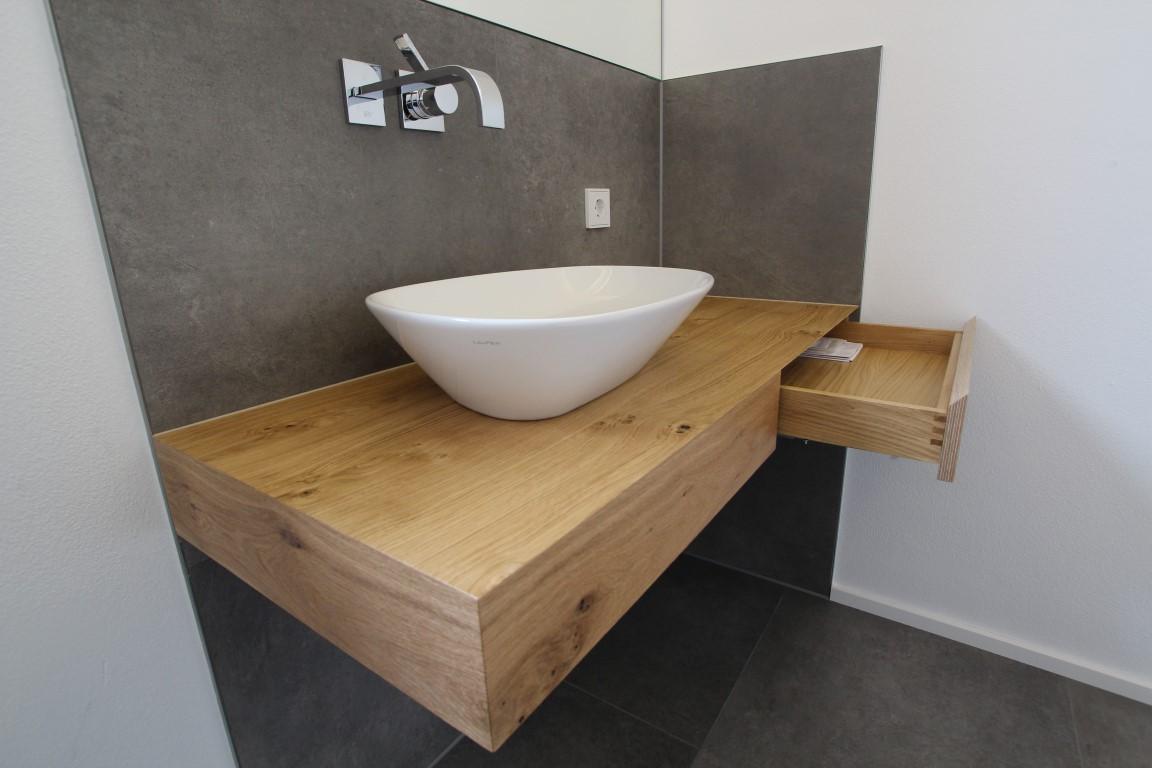 Waschtisch WC Wildeiche 2