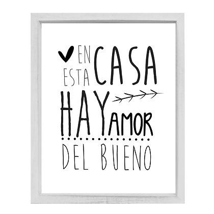 Vidrio Hay Amor Del Bueno