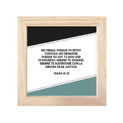 Cuadro Biblia Isaías 41:10