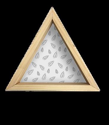 Repisa Triángulo Hojas