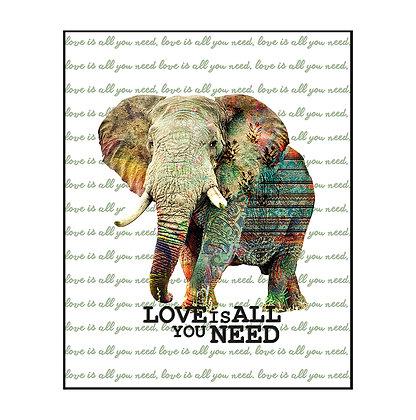Flotante Elefante
