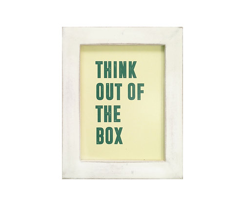 Cuadro Think Out of the Box