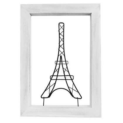 Cuadro Alambre Torre Eiffel