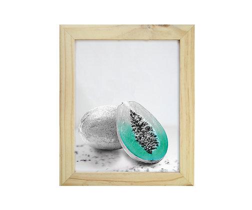 Cuadro Pino Papaya Verde