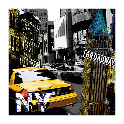 Lienzo NYC Yellow Cab