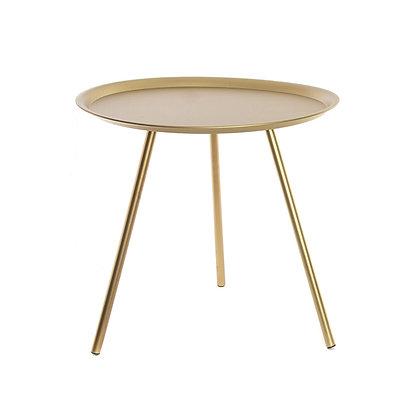 Mesa dorada grande