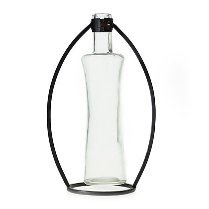 Botella con soporte grande
