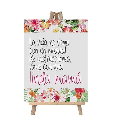 Caballete Linda Mamá