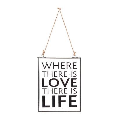 Placa Vidrio Life