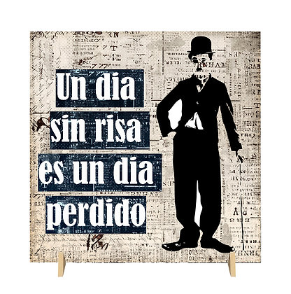 Cuadro Chaplin