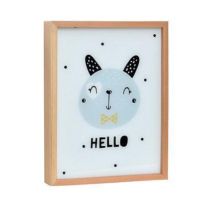 Caja de luz Hello