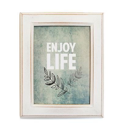 Cuadro Vintage Enjoy life