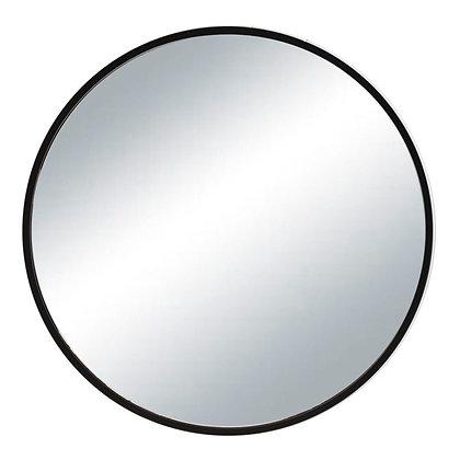Espejo hierro negro 60cm