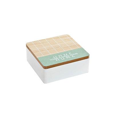 Caja Home verde pequeña