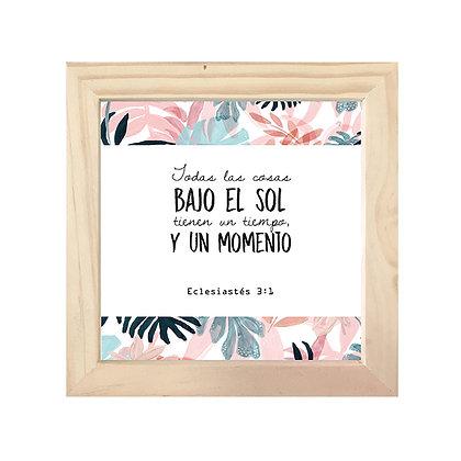 Cuadro Biblia Eclesiastés 3:1