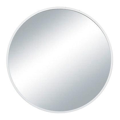 Espejo hierro blanco 60cm