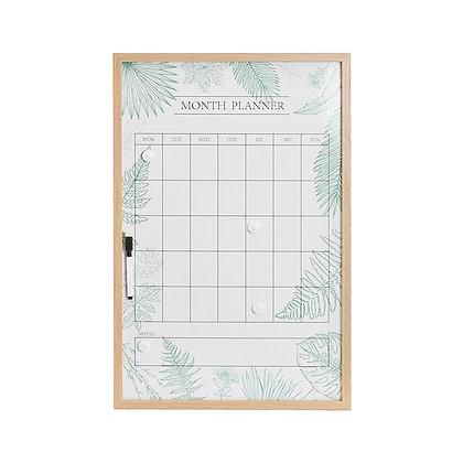 Planeador mensual hojas