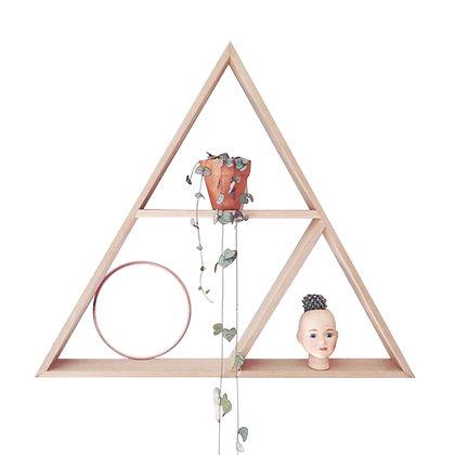 Repisa pino triángulo