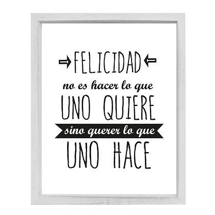 Vidrio Felicidad