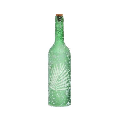 Botella Nieve hoja