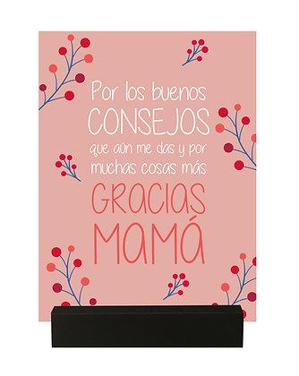 """Regalo Mamá """"Gracias"""""""