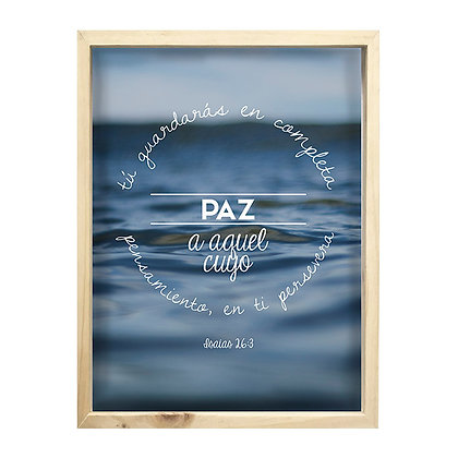 Cuadro Biblia Isaias 23:6