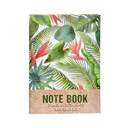 Libreta Note Book tropical