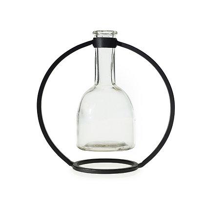 Botella con soporte mediana