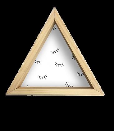 Repisa Triángulo Pestañas