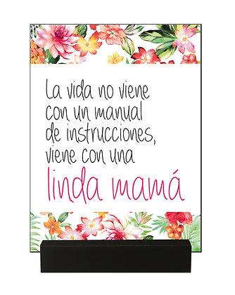 "Regalo Mamá ""Linda Mamá"""