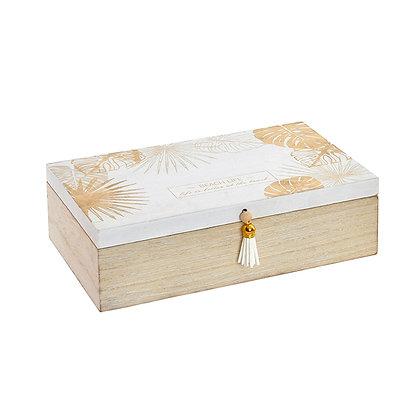 Caja dorada grande