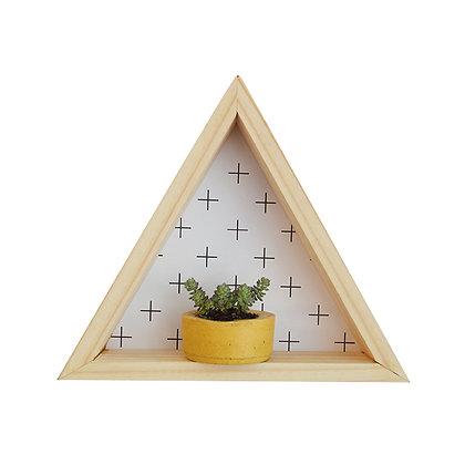 Repisa Triángulo Cruces