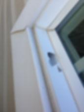Hail Damaged windows