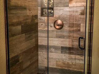 We Install Custom Shower Doors