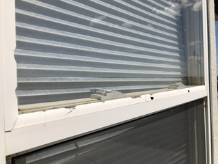 All American Glass and Screen Company specializes in hail damagedwindow and screen repair.
