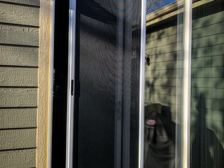 The very best patio door screen in the Fort Collins, Loveland, and Colorado
