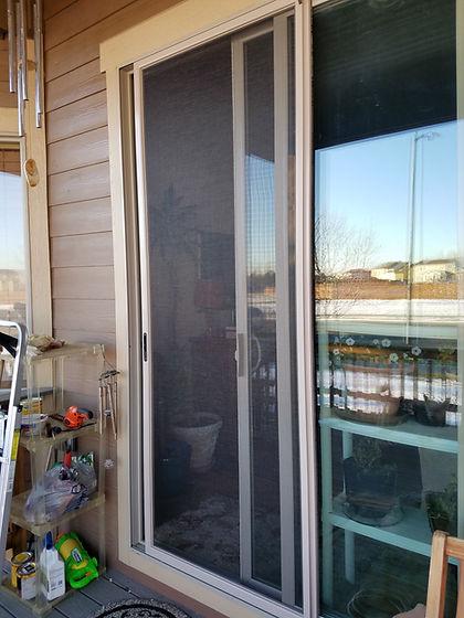 patio door screens loveland colorado