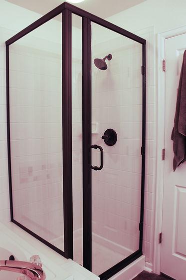 custom size shower doors in greeley