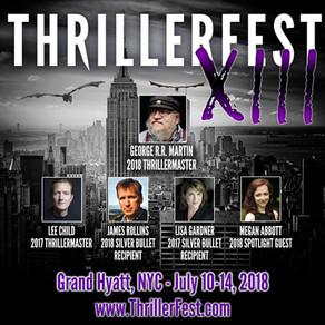 Just Announced: ThrillerFest XIII Schedule